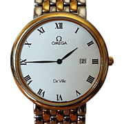 SOLD Omega De Ville Vintage 1988 watch
