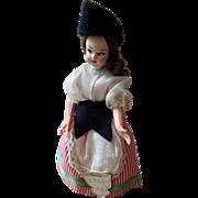 Magis Roma 1940's san Remo Doll Italy Bambola Di epoca