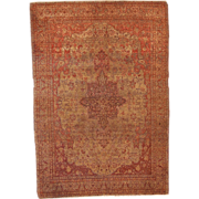 Antique Turkish Sivas rug 4.2' x 6.1' ( 128cm x 186cm) 1900