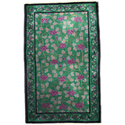 2.11' x 4.10' ( 94cm x 152cm ) Art deco Chinese rug 1920