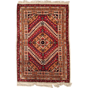 4' x 6' ( 123cm x 183cm ) hand made Art Deco style Chinese rug c.1930