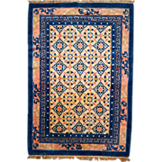 4.4' x 6.6' ( 136cm x 202cm ) and made Art Deco style Chinese rug ...