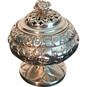 SALE Table Pomander Solid Silver. Joseph Biggs , London 1825.