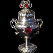 SALE Danish Solid Silver Vinaigrette. Johan Christian Bernbaum 1824-1859.