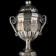 SALE Danish Solid Silver Vinaigrette Hovedvandsaeg. Peter Fredrik Trolle 1819-1882. Excellent!