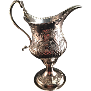 SALE Charles Hougham 1784 London. Sterling Silver Milk Jug. Excellent.