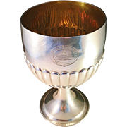 SALE IMPORTANT PROVENANCE.  Alice and George Burrows, London 1810 Goblet, poss provenance ...