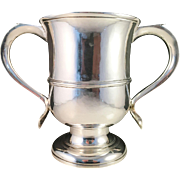 SALE Extremely Rare 1768 Sterling Silver Two-handled Cup, Benjamin Cartwright London.