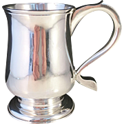 SALE Antique 1778 Sterling Silver Mug Tankard. John Schofield, London. Excellent and very Rare