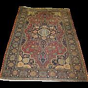 SALE Persian Farahan Sarouk , ca. 1910, 4'5 x 6'10 Free shipping & appraisal