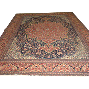 "SALE FABULOUS Persian Farahan , ca. 1910, 8' x 12'3"" Beautiful Colors & quality-Free ship"