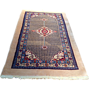"SALE 1960's Persian Sarab rug 4'2"" x 7'0"" Free shipping & appraisal"