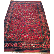 SALE Very Fine Persian Antique HALVIA BIJAR Oriental Rug made of fine wool on wool ...