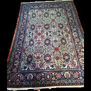 "SALE Fine Antique Persian TEHRAN Oriental Rug, ca. 1910, Size: 4'6"" X 6'-Free ..."