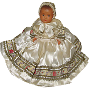 SOLD Madam Le Minor French Celluloid Baby Doll W / Tag