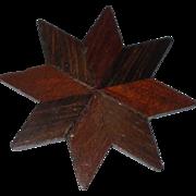 Unusual 19th Century Hard wood Thread Winder
