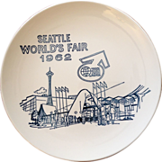 Vintage World's Fair Plate