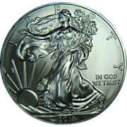 SOLD 2011 U.S. Mint Uncirculated One Troy Ounce Silver Eagle