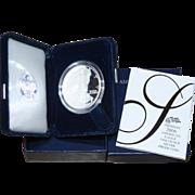 2006-W American Silver Eagle Proof Coin, Original Box & COA