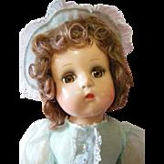 Vintage Madame Alexander Composition Jeannie Walker Doll Original Tagged