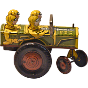 Marx Wind-Up Jumpin Jeep Toy