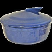 Dark Blue Fiesta Covered Dish
