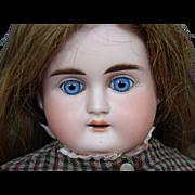 Bisque Turned Shoulder Head Child Doll