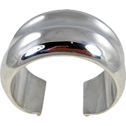 REDUCED Navajo - Orville Tsinnie Sterling Silver WIDE Cuff