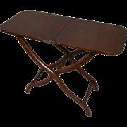 A Victorian mahogany coaching table