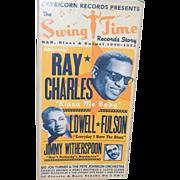 SWINGTIME RECORD STORY, R & B, RAY CHARLES ETC.