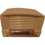 SOLD Repaired/Refurbished 1946 General Electric Tube Radio Model 114W