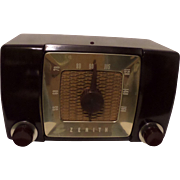 Repaired/Refurbished 1951 Zenith Tube Radio Model H615Z
