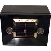 "Repaired/Refurbished 1950-1952 Crosley Tube Radio Model 11-109U ""Decorator"" (Hunter Green)"
