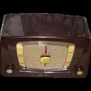 Repaired/Refurbished Early 1950s Silvertone Catalog 5 Tube Radio