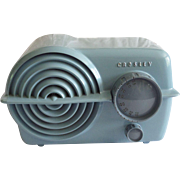 "SOLD 1951 Crosley Tube Radio Model 11-119U ""Serenader"" (Blue)"
