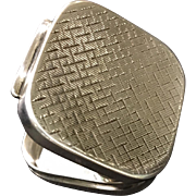 Vintage Tiffany & Co Sterling Silver Germany Hinged Pill Box Case