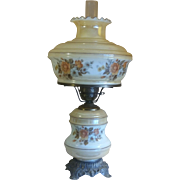 Large Gone With The Wind Table Parlor Lamp