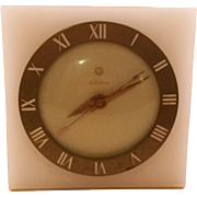 SOLD Vintage Electric Telechron Clock Brass and Marble