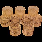 Corning Pyrex Set of 9 Napkin Rings