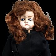 SALE Antique German Patent Washable composition head/legs cloth sawdust body doll