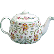 LARGE teapot Minton HADDON HALL B1451 Signed Excellent