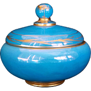 Cambridge Glass Azurite Covered Bon-bon