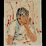 Sophie Fordon (American, ? -2006) Modernist Figurative Work