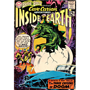 SOLD The Brave and the Bold Presents: Cave Carson Adventures - Inside Earth - Silver Age Comic