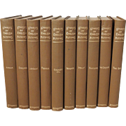 SOLD 1896 Collection of Stories By English Authors Set of 10 / Vintage Book Collection / Doyle