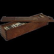 Double 9's Dominoes Set, England, Circa 1900