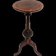 19th-Century Georgian Mahogany Wine Table / Candlestand