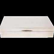 Art Deco Sterling Silver Cigarette Case Box