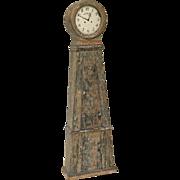 Swedish Provincial Long Case Clock, Dated 1837