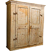 18th-Century Tuscan Painted Armoire